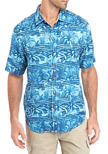 Tommy Bahama® Primo Palms Short Sleeve Button Down Shirt