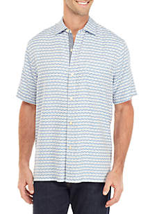 Tommy Bahama® Geovanni Geo Button Front Shirt