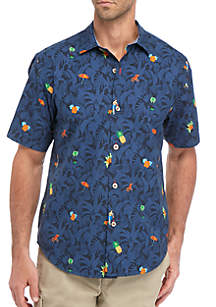Tommy Bahama® Beach Cation Short Sleeve Button Down Shirt