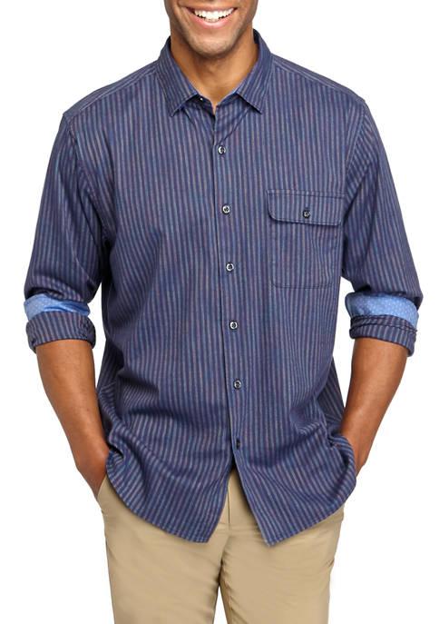 Mens Vista Lago Stripe Shirt