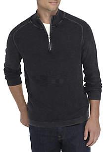Long Sleeve Island Tide Half Zip Sweater