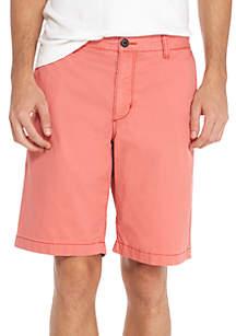 Sail Away Flat-Front Shorts