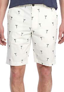 Mix Master Flat Front Shorts