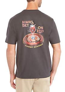 Always Bet on Red Short Sleeve Tee
