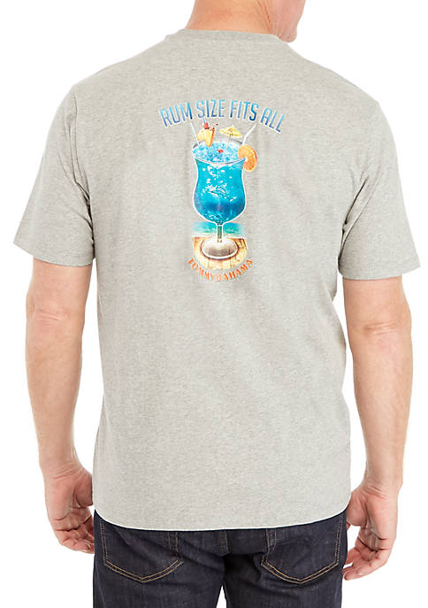 Rum Size Fits All Short Sleeve Tee