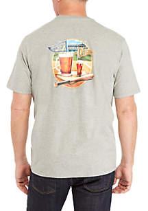 Tommy Bahama® Pitcher Catcher Short Sleeve Tee