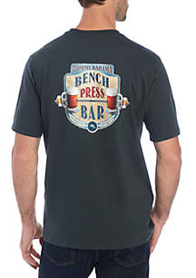 0d3072ab ... Tommy Bahama® Bench Press Bar Graphic T Shirt
