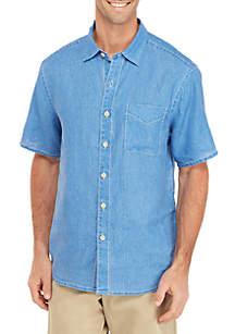 57450d8b2ad9 ... Tommy Bahama® Short Sleeve Sea Glass Breezer Shirt