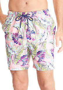 Tommy Bahama® Naples Let's Be Fronds Swim Trunks