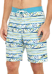 Tommy Bahama® Baja Cecina Stripe Swim Trunks