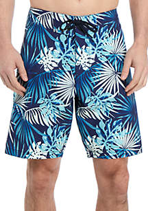 f14fc792bf ... Tommy Bahama® North Shore Lago Leaves 9 in Board Shorts