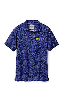 Collegiate Camp Safari Trim Fit Polo