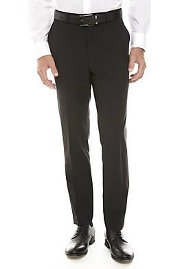 Solid Black Suit Separate Pants