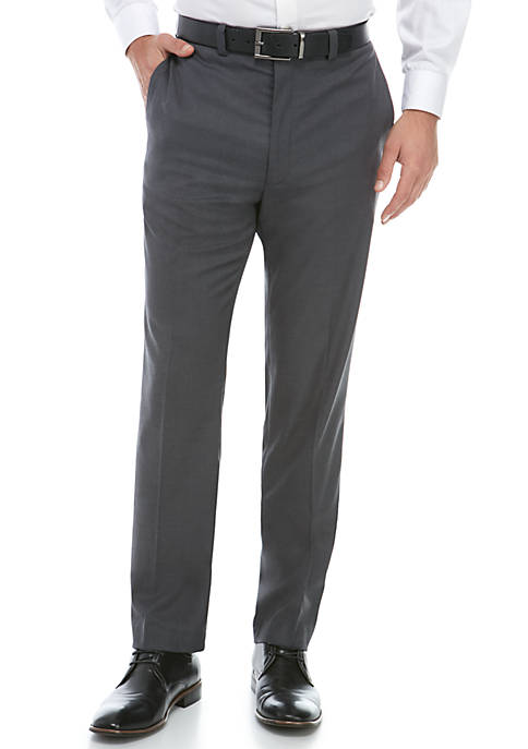 Calvin Klein Stretch Gray Dress Pants