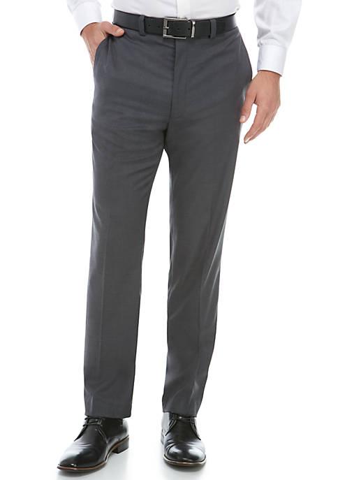 Stretch Gray Dress Pants