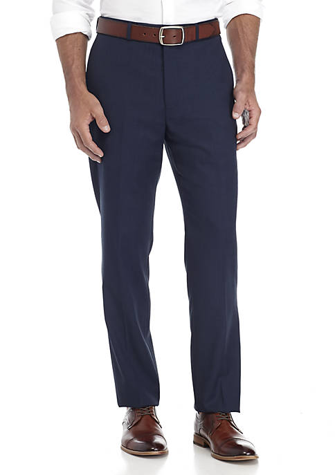 Calvin Klein Blue Charcoal Birdseye Suit Separate Pants