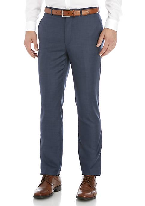 Calvin Klein Blue Plain Suit Separate Pants
