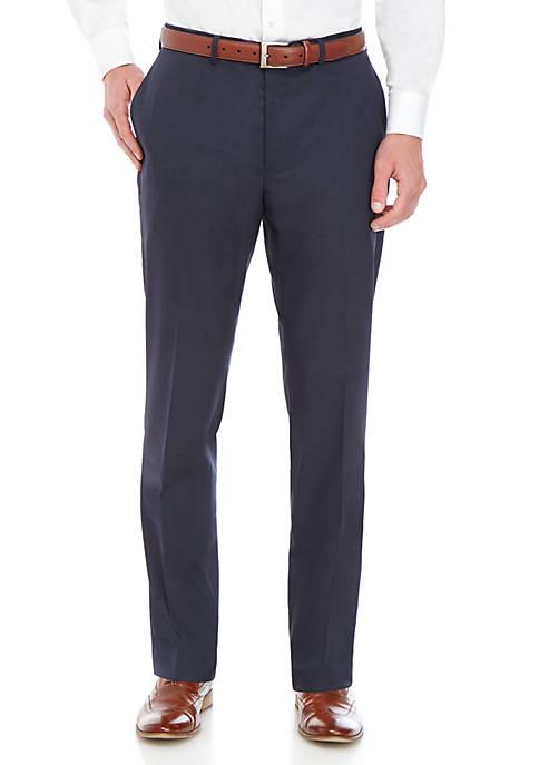 Sharkskin Slim Pants