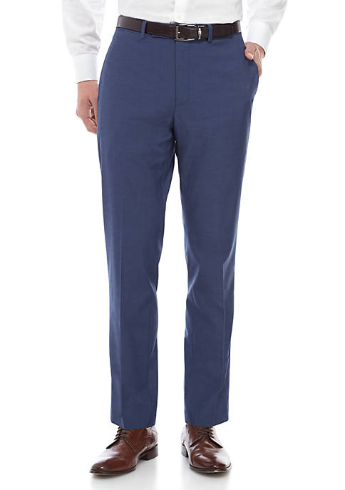Blue Pants Suit Separates