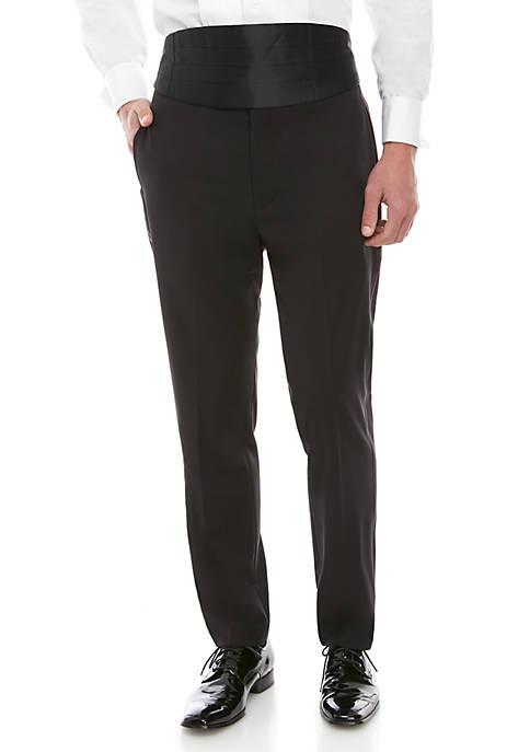 Plain Spandex XFit Pants Separate