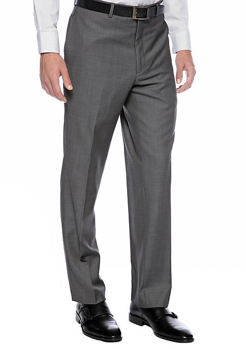 Calvin Klein Slim Fit Charcoal Neat Suit Separate