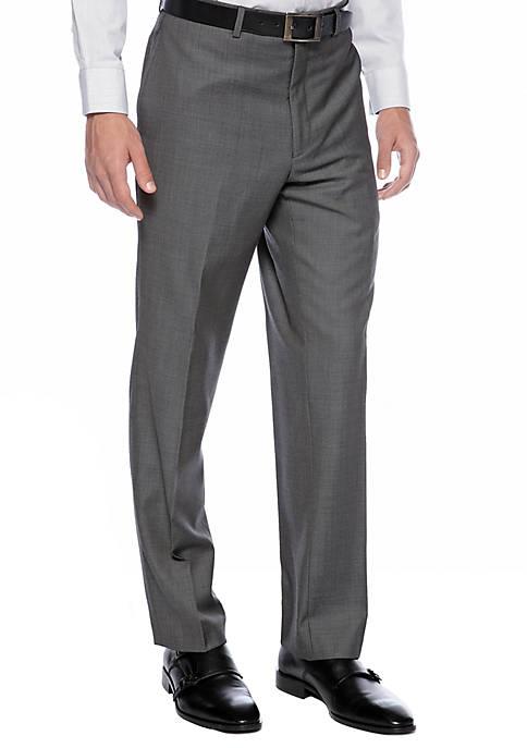 Slim Fit Charcoal Neat Suit Separate Pants