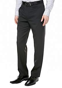Slim Fit Black Stripe Suit Separate Pants