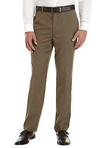 Calvin Klein Wool Stretch Flat Front Pants
