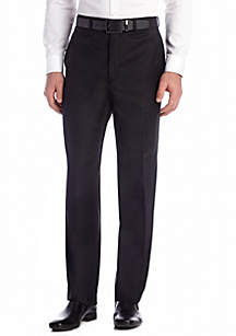 Calvin Klein Black Wool Stretch Pants