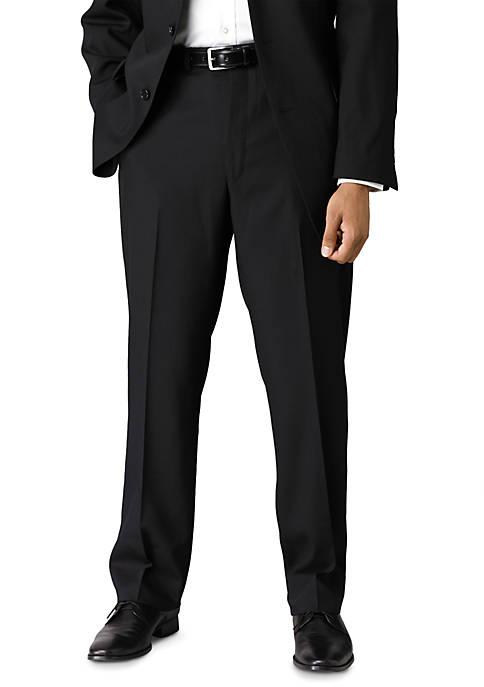 Calvin Klein Slim Fit Black Wool Suit Separate
