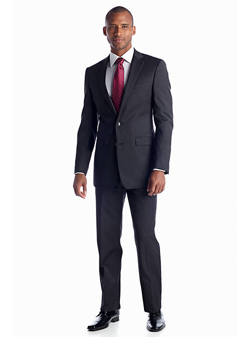 Calvin Klein Charcoal Slim Fit Suit