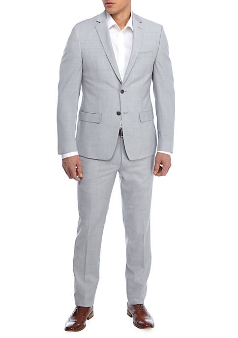 Calvin Klein Light Grey 2-Piece Suit