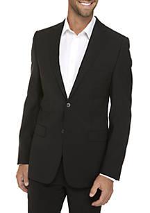 0f70156a463 Calvin Klein Black Plain Suit Coat ...