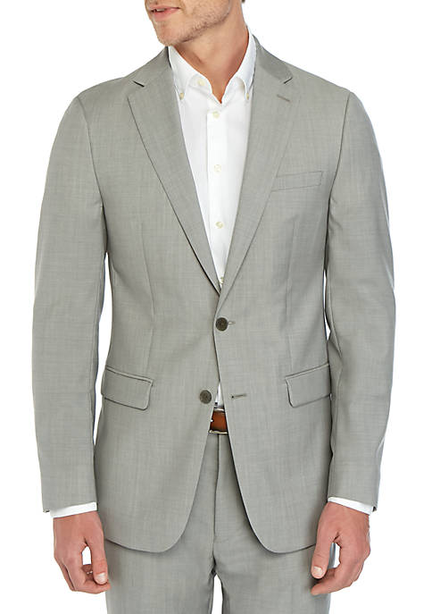 Calvin Klein Natural Stretch Xfit Suit Separate Coat