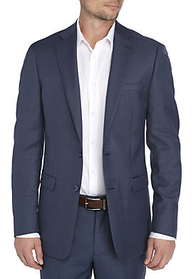 Blue Plain Suit Separate Coat