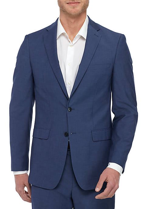 Calvin Klein Blue Coat Suit Separate
