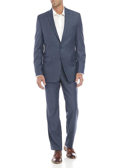 Blue Plain Suit