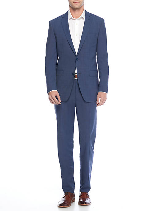 Calvin Klein Neat Two Button Suit