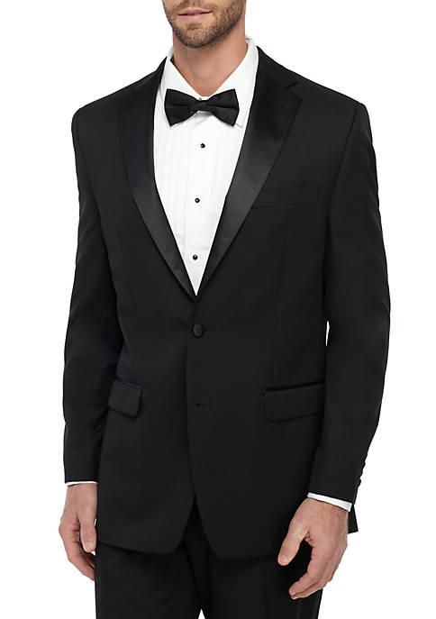 Calvin Klein Black Tuxedo Coat