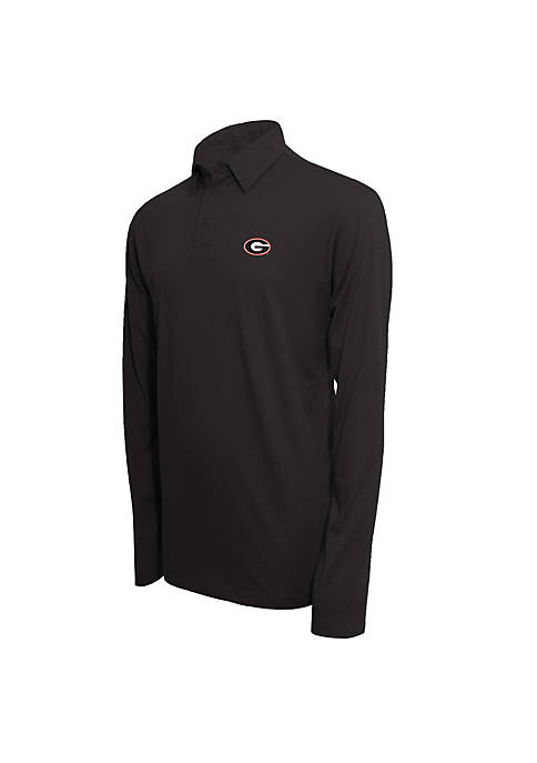 Campus Specialties Georgia Bulldogs Long Sleeve Polo Shirt