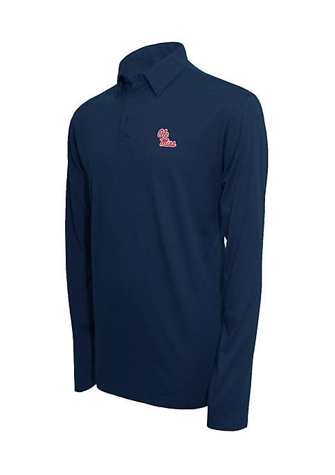 Campus Specialties Ole Miss Rebels Long Sleeve Polo