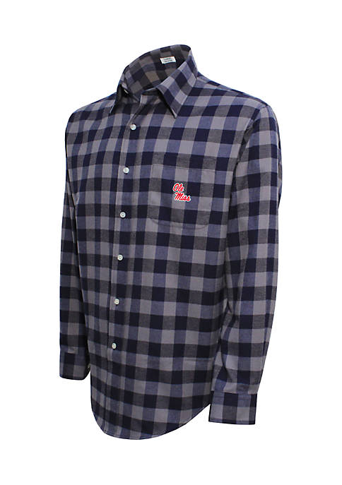 Campus Specialties Ole Miss Rebels Long Sleeve Flannel
