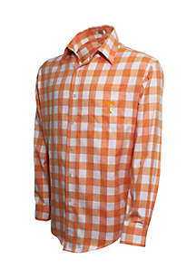 Tennessee Volunteers Long Sleeve Flannel Buffalo Check Woven Shirt