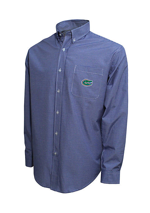 Vesi Florida Gators Long Sleeve 3-Color Gingham Check