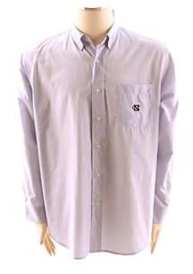 UNC Tar Heels Gingham Woven Shirt