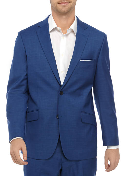 Madison Mens Bright Blue Suit Separate Coat