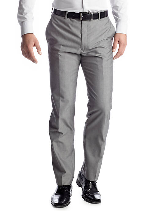 Madison Modern Slim-Fit Light Gray Suit Separate Pants