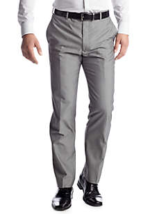 Modern Slim-Fit Light Gray Suit Separate Pants