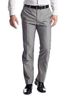Modern Slim-Fit Light Gray Suit Separate Pants