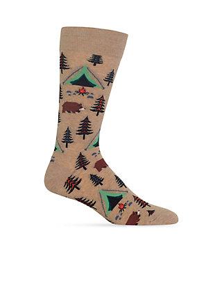 Hot Sox Women/'s Bear Tent Socks